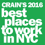 Best Places to Work in NYC (2016) Crain's New York Business